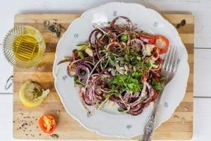 פסטת ירקות - 'פסטה נאה RAW