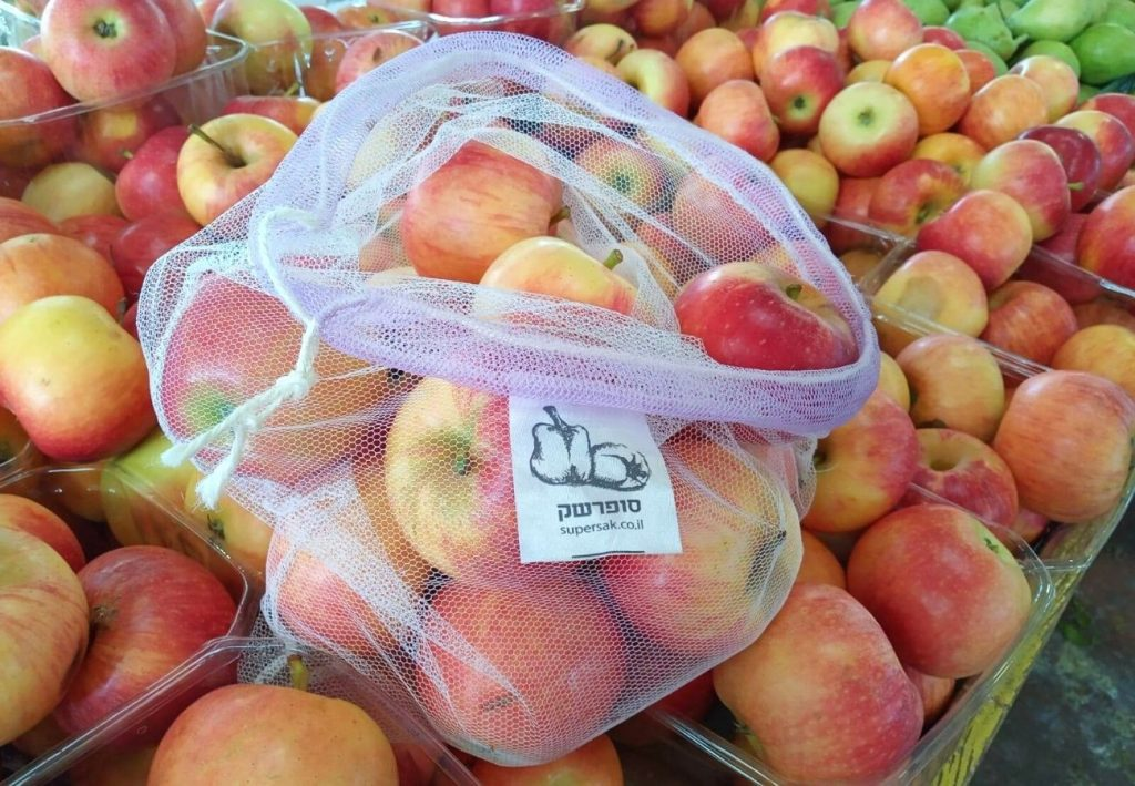 תפוח עץ אדום אורגני