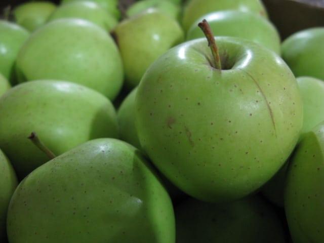 תפוח אורגני לשנה החדשה