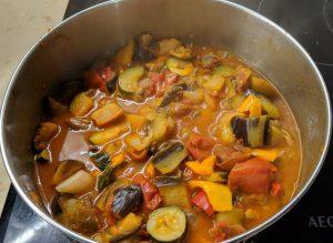 גיווץ' - תבשיל ירקות בלקני