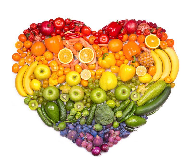 פירות וירקות טובים ללב