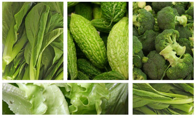ירוקים מרירים בריאים