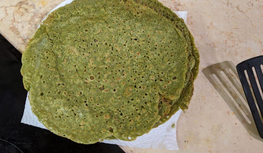 טורטיות כוסמת ירוקה