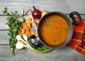 מרקים בריאים עם סופר פוד